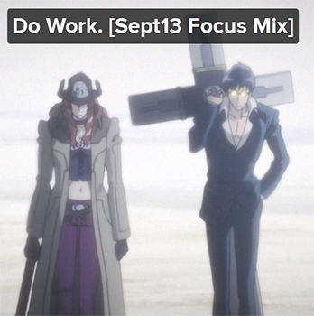 Music Monday 8tracks: Do Work.